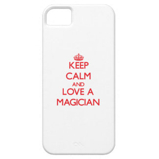 Keep Calm and Love a Magician iPhone 5 Cover