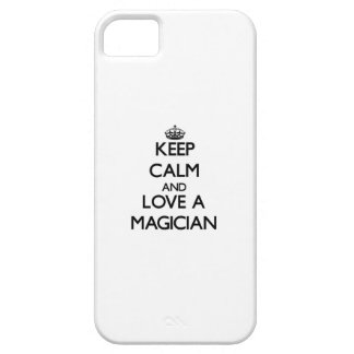 Keep Calm and Love a Magician iPhone 5 Case