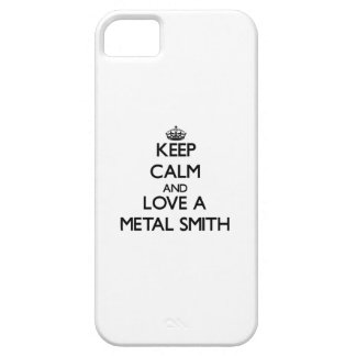 Keep Calm and Love a Metal Smith iPhone 5 Cover