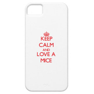 Keep calm and Love a Mice iPhone 5 Covers