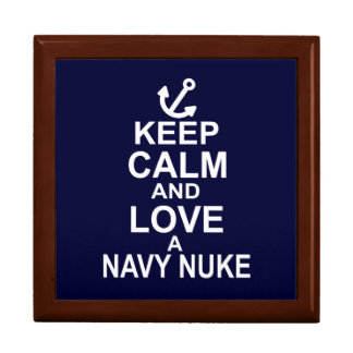 Keep Calm and Love a Navy Nuke Gift Box