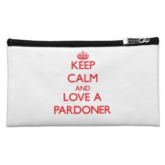 Keep Calm and Love a Pardoner Cosmetic Bag