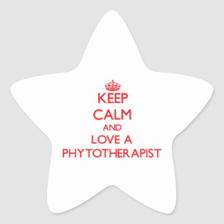 Keep Calm and Love a Phytotherapist Stickers