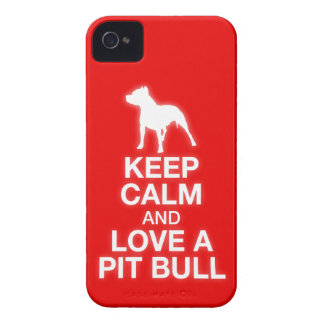Keep Calm And Love A Pit Bull - iPhone 4/4S Case