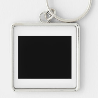 Keep Calm and Love a Product Engineer Silver-Colored Square Keychain