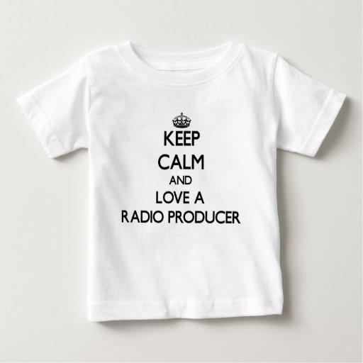 Keep Calm and Love a Radio Producer Tees T-Shirt, Hoodie, Sweatshirt