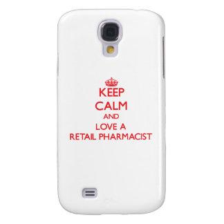 Keep Calm and Love a Retail Pharmacist HTC Vivid Cover