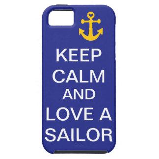 Keep Calm and Love A Sailor #2 iPhone SE/5/5s Case