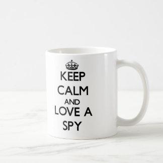 Keep Calm and Love a Spy Coffee Mug
