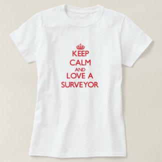Keep Calm and Love a Surveyor T-Shirt