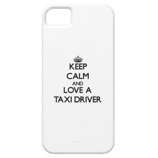 Keep Calm and Love a Taxi Driver iPhone 5 Case