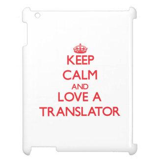 Keep Calm and Love a Translator Case For The iPad 2 3 4