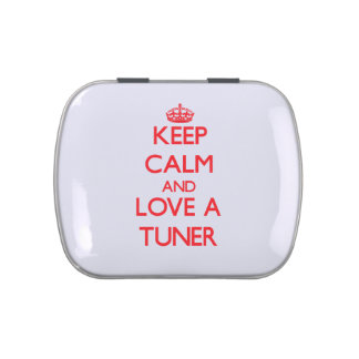 Keep Calm and Love a Tuner Jelly Belly Tins