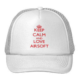 Keep calm and love Airsoft Hat