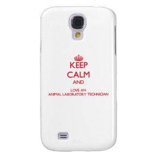 Keep Calm and Love an Animal Laboratory Technician HTC Vivid Case