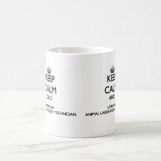 Keep Calm and Love an Animal Laboratory Technician Coffee Mug
