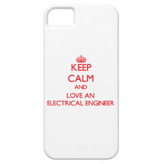 Keep Calm and Love an Electrical Engineer iPhone 5 Cover