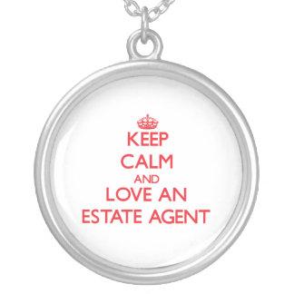 Keep Calm and Love an Estate Agent Custom Jewelry