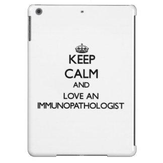 Keep Calm and Love an Immunopathologist Cover For iPad Air