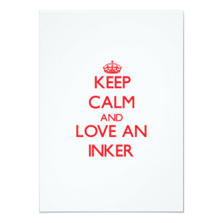 Keep Calm and Love an Inker Announcements