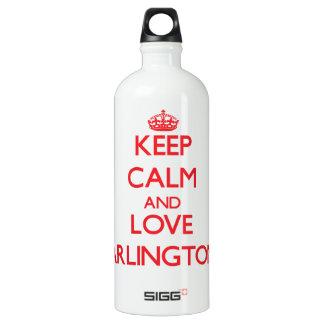 Keep Calm and Love Arlington SIGG Traveler 1.0L Water Bottle