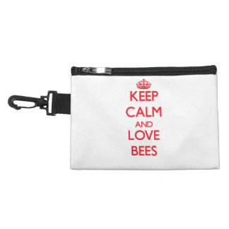 Keep calm and love Bees Accessories Bag