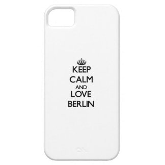 Keep Calm and love Berlin iPhone 5 Cover