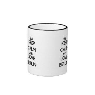 Keep Calm and love Berlin Ringer Coffee Mug