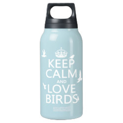 SIGG Thermo Bottle (0.5L) with Keep Calm and Love Birds design