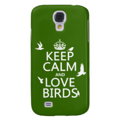Case-Mate Barely There Samsung Galaxy S4 Case with Keep Calm and Love Birds design
