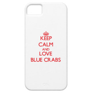 Keep calm and love Blue Crabs iPhone 5 Covers