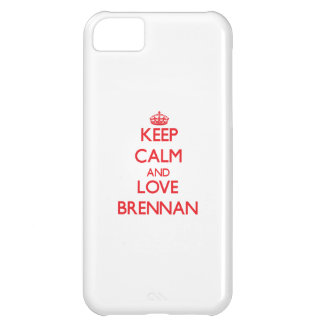 Keep calm and love Brennan Case For iPhone 5C