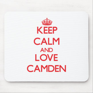 Keep Calm and Love Camden Mouse Pad