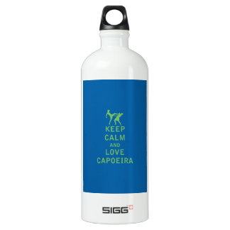 Keep Calm and Love Capoeira Water Bottle