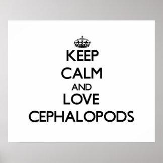 Keep calm and Love Cephalopods Print