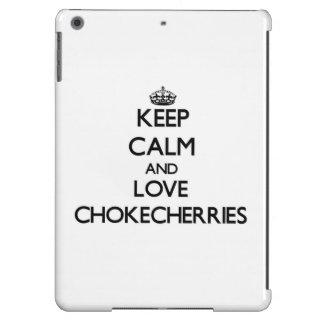 Keep calm and love Chokecherries iPad Air Case