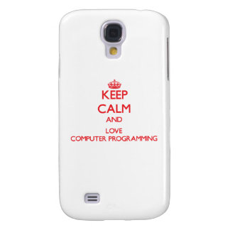 Keep calm and love Computer Programming HTC Vivid / Raider 4G Cover