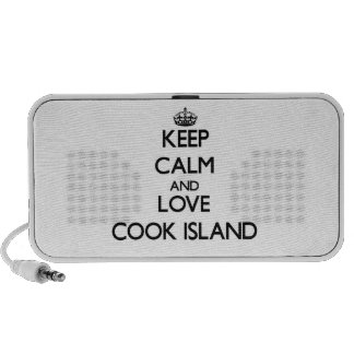 Keep Calm and Love Cook Island Speaker System