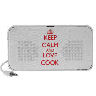 Keep calm and love Cook Speaker System