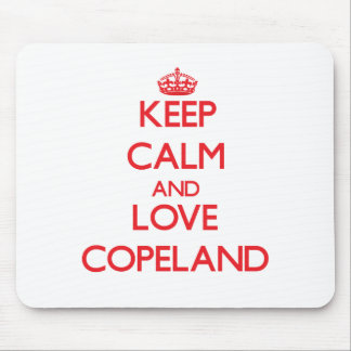 Keep calm and love Copeland Mousepads