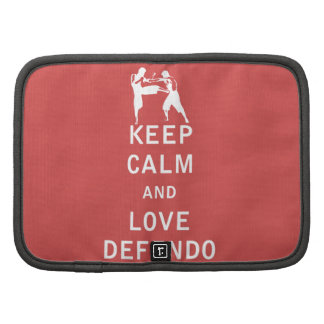 Keep Calm and Love Defendo Organizer