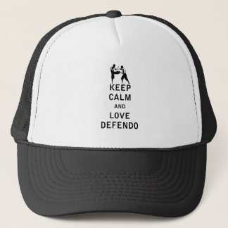 Keep Calm and Love Defendo Trucker Hat