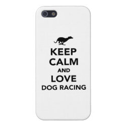 Case Savvy iPhone 5 Matte Finish Case with Greyhound Phone Cases design