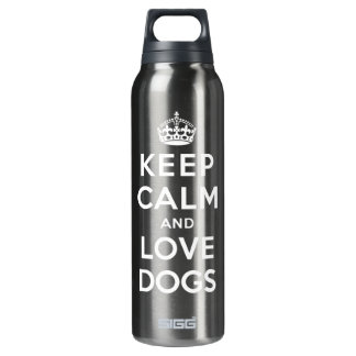 Keep Calm and Love Dogs SIGG Thermo 0.5L Insulated Bottle