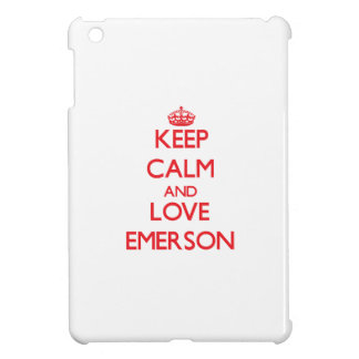 Keep calm and love Emerson Cover For The iPad Mini