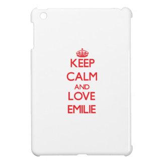 Keep Calm and Love Emilie iPad Mini Cases