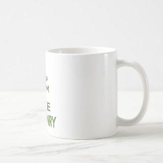 Keep Calm And Love Falconry Coffee Mug