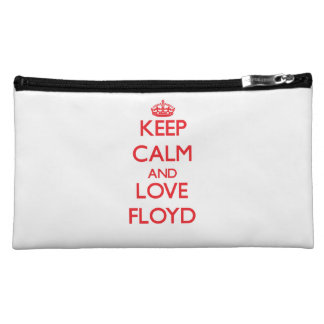 Keep calm and love Floyd Cosmetic Bag