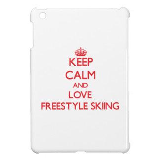 Keep calm and love Freestyle Skiing iPad Mini Case