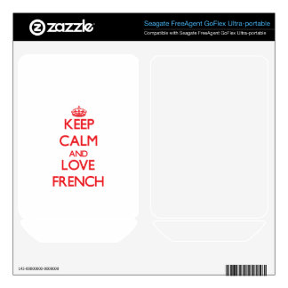 Keep calm and love French FreeAgent GoFlex Skins